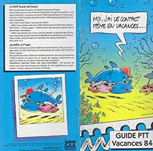Guide PTT Vacances 84 1984 Publicite MANDRIKA: MANDRIKA