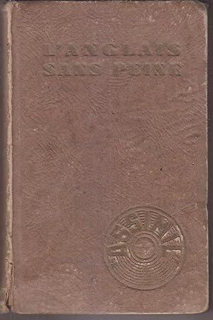 Methode ASSIMIL L Anglais Sans Peine EDITION: ASSIMIL Alphonse CHEREL