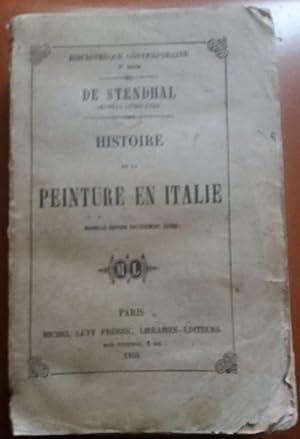 Histoire de la PEINTURE EN ITALIE Michel: STENDHAL
