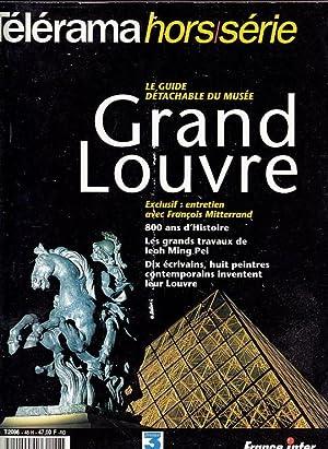 TELERAMA Hors Serie - GRAND LOUVRE. ILLUSTRATIONS: Ray BRADBURY, Michel