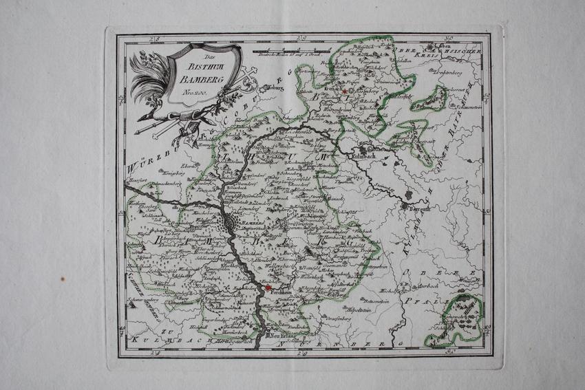 Oberfranken Karte.Oberfranken