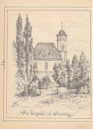 """GAMIG bei Pirna - """"Die Kapelle zu"""