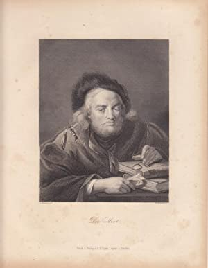 Der Arzt. Stahlstich French/Nogari um 1850 aus dem Verlag Albert Henry Payne Leipzig. Blattgr&...