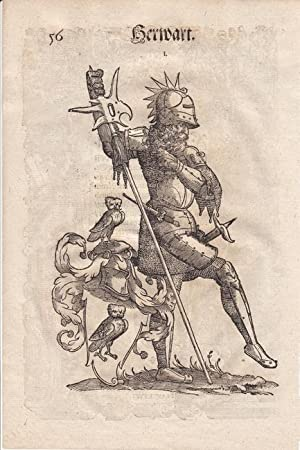 """Herwart und sehr detailiertes Deckblatt """"Franckfurt"""", aus einer Augsburger ..."""