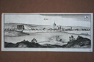 Kalisz, Calies, schöner Kupferstich um 1650 von Merian (1593 - 1650), Blattgröße: ...