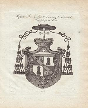 Hochfürstl. und reichsäbtl. Wappen. (1794). Kupferstiche bei Tyroff, Nürnberg. Ca. ...