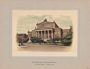 Königliches Schauspielhaus, Karl Friedrich Schinkel (1781 -