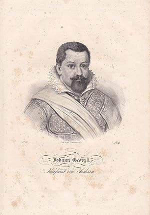 Johann Georg I. Kurfürst von Sachsen (1585
