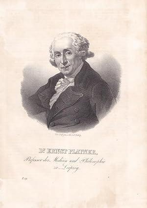 Platner, Ernst (1744 Leipzig - 1818. Berühmter Arzt, Physiologe und Philosoph. Professor in ...