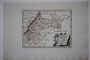 """Baden - """" Die untere Markgrafschaft Baaden oder die Grafschaft Eberstein mit den Durlachischen..."""