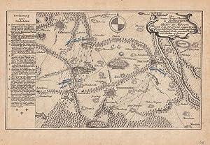 """Pretzsch - Schmiedeberg. - """" Plan der Action, welche d. 29. Oct. 1759 mit einigen Corps der ..."""