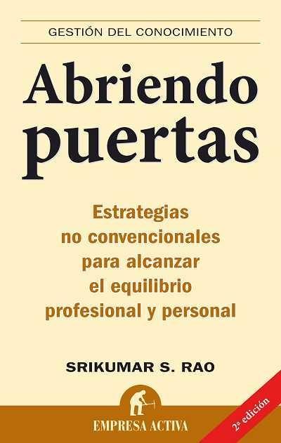 ABRIENDO PUERTAS. - RAO, SRIKUMAR
