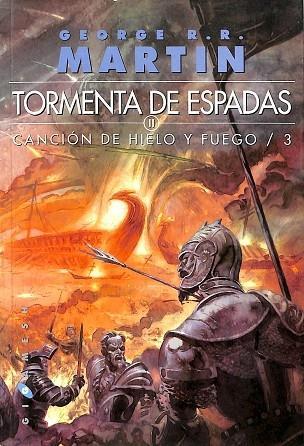 CANCIÓN DE HIELO Y FUEGO 3, TORMENTA DE ESPADAS. CANCIÓN DE FUEGO Y HIELO 3, (2 VOL.) - MARTIN, GEORGE R. R.