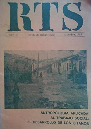 RTS: ANTROPOLOGIA APLICADA AL TRABAJO SOCIAL: EL DESARROLLO DE LOS GITANOS.