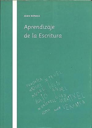 APRENDIZAJE DE LA ESCRITURA.: BONALS PICAS, JOAN