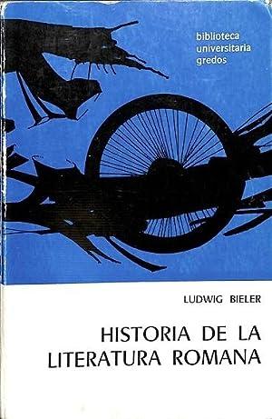 Resultado de imagen para bieler historia de la literatura romana