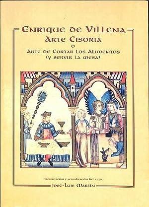 ENRIQUE DE VILLENA, ARTE CISORIA O ARTE: VILLENA, ENRIQUE DE