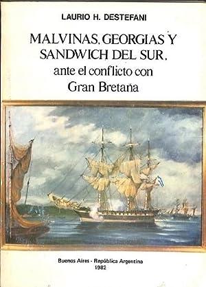 MALVINAS, GEORGIAS Y SANDWICH DEL SUR, ANTE: H.DESTEFANI, Laurio
