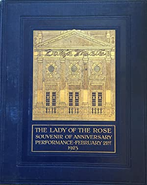 The Lady of the Rose: Souvenir of: Frederick Lonsdale