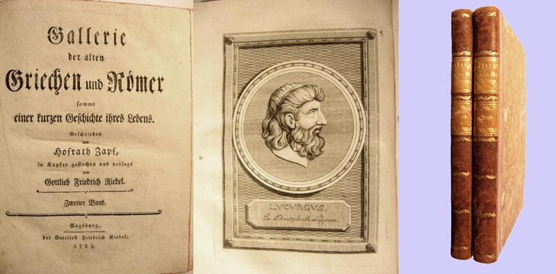 Gallerie der alten Griechen und Römer (2 Bände)