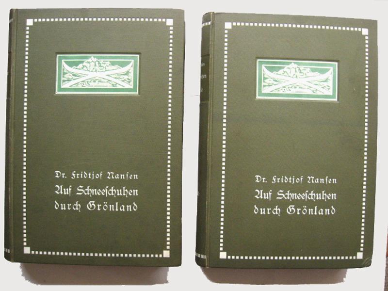 Auf Schneeschuhen durch Grönland (2 Bände).: Nansen, Fridtjof :