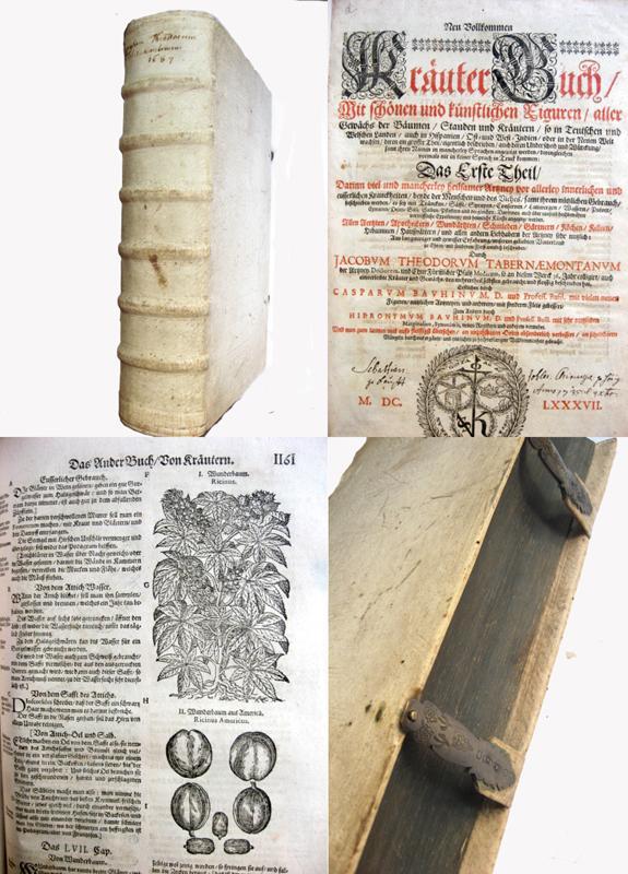 Neu vollkommen Kräuter-Buch (2 Teile in 1): Tabernaemontanus, J. T.