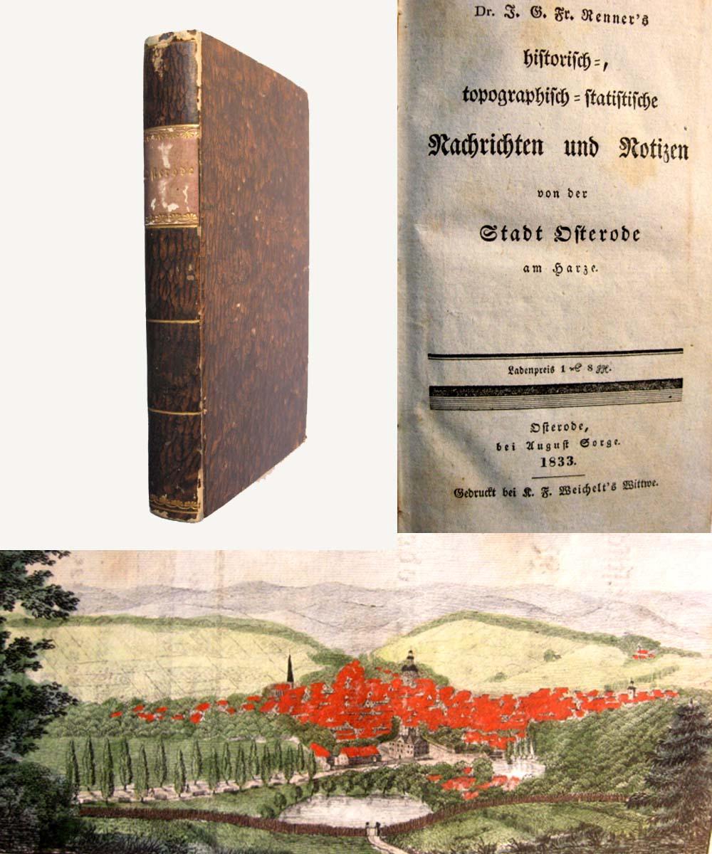 Historisch-, topographisch-statistische Nachrichten und Notizen von der: Renner, J. G.