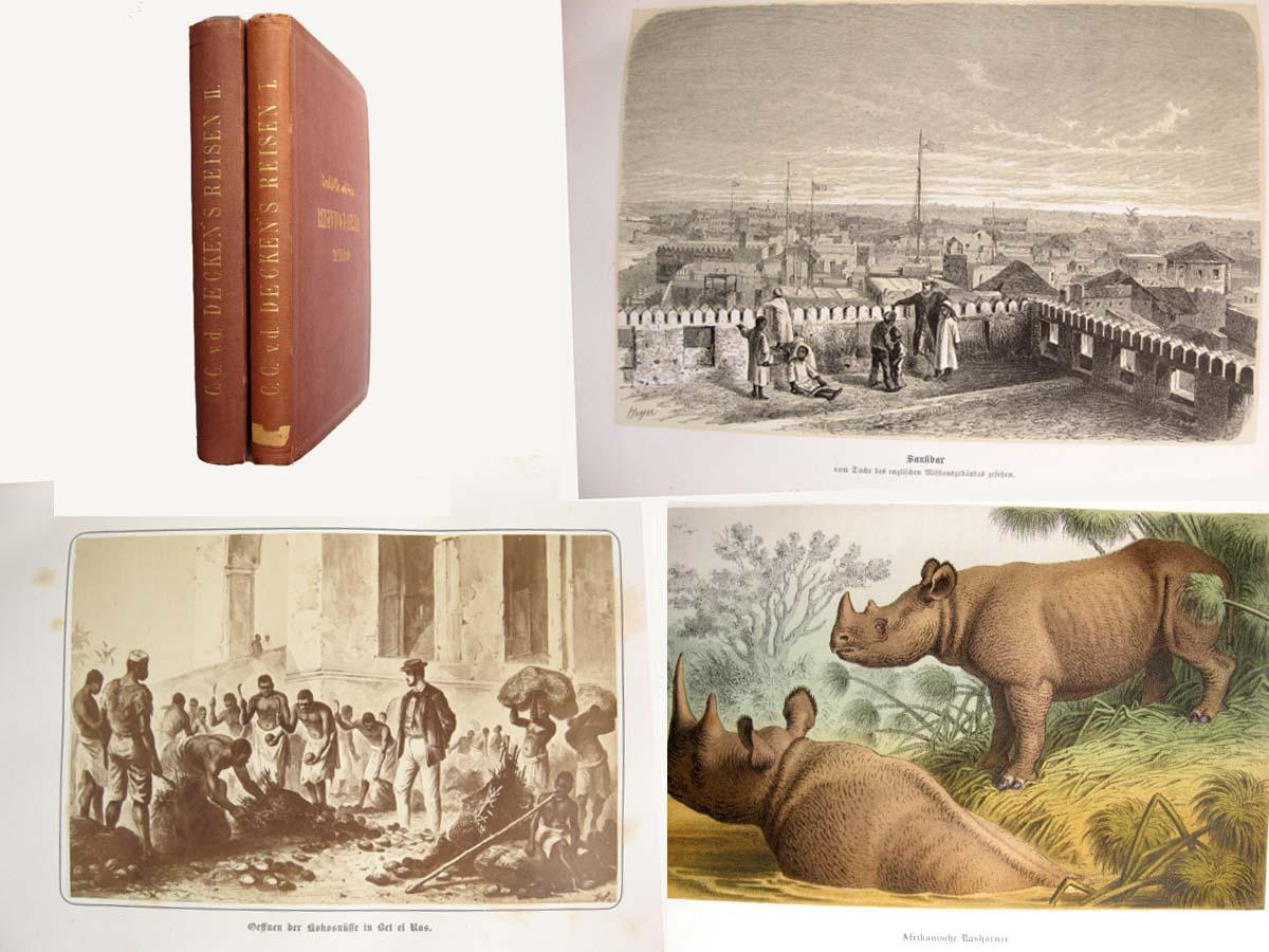 Reisen in Ost-Afrika in den Jahren 1859: Decken, Carl Claus