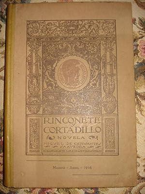RINCONETE Y CORTADILLO. Novela por .: CERVANTES SAAVEDRA, Miguel