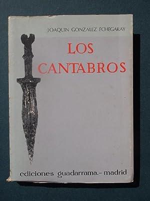 LOS CANTABROS.: González Echegaray, Joaquín.