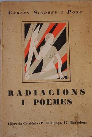 RADIACIONS I POEMES.: SINDREU I PONS,