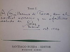 ULISES. Traducido por J. Salas Subirat.: Borges) JOYCE, James.