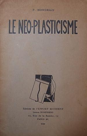 LE NEO-PLASTICISME.: MONDRIAN, Piet.