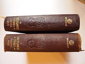 OBRAS COMPLETAS. Tomo I y II. Versión: NOKOLAIEVICH TOLSTOI ,