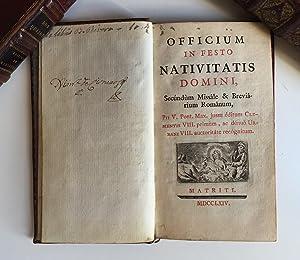 Officium in festo Nativitatis Domini : secúndum