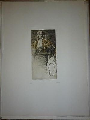 Tauromaquia. 10 Aguafuertes.: Gruber, Eduardo.