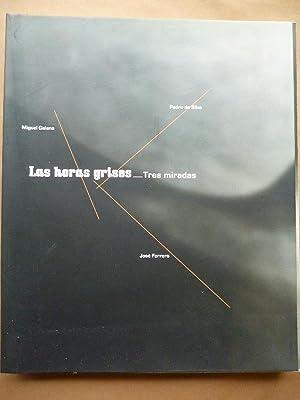 Las Horas Grises. Tres Miradas. Pedro de Silva. José Ferrero. Miguel Galano.: Pedro de Silva...