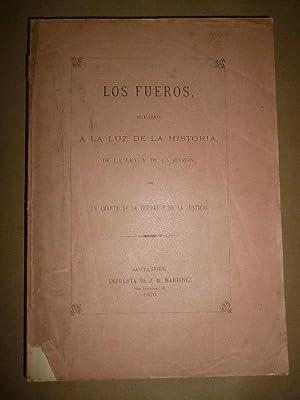 Los FUEROS MIRADOS A LA LUZ DE: Bengoa, Bartolomé de.]