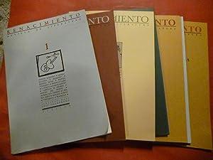 Renacimiento. Revista de Literatura. Números 1 -: Felipe Benítez Reyes,