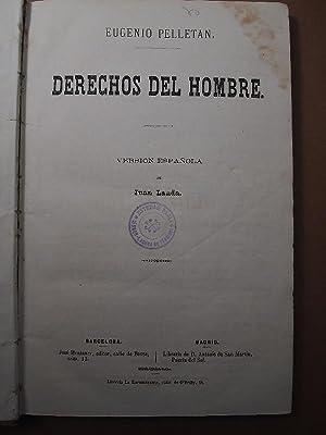 Derechos de Hombre. Versión española de Juan Landa.: Pelletan, Eugenio.