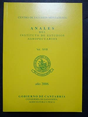 Anales del Instituto de Estudios Agropecuarios. Vol. XVII.