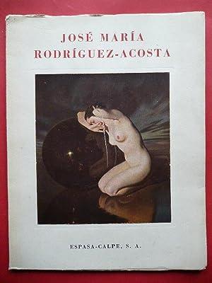 José María Rodríguez-Acosta. Estudio de.Introducción de Antonio: FRANCES José.