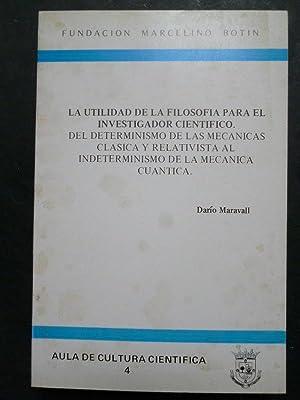 La Utilidad de la Filosofía para el: Maravall, Darío.