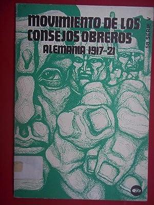 Movimiento de los Consejos Obreros. Alemania (1917-1921.): Canne Meijer, H.