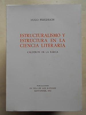Calderón Friedrich Hugo Estructuralismo Estructura Ciencia