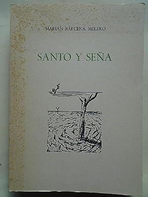 Santo y Seña. (Dedicatoria autógrafa.): Bárcena, Marián.