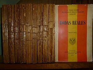 EPISODIOS NACIONALES. Tercera Serie. Zumalacarregui [1898]. Mendizábal [1898]. De Oñ...