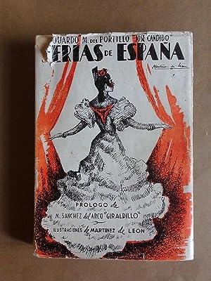 Ferias de España. (Itinerario) Libro de Horas: Portillo, Eduardo M.