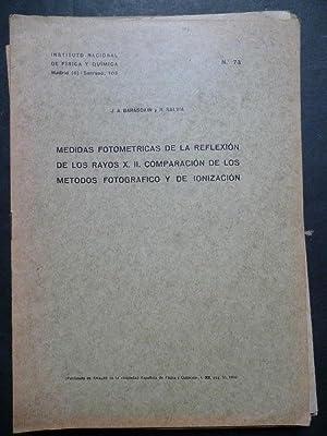 Medidas Fotométricas de la Reflexión de los: J.A. Barasoaín y