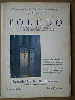 Toledo, en Horas de Silencio y emoción: González Simancas, M.